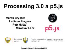 Processing 3.0 a p5.js