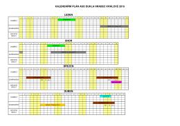 Kalendář závodů skeet 2015