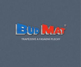 kompletní nabídka trapézových profilů BUDMAT