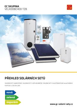 Nové solární sety pro Vás