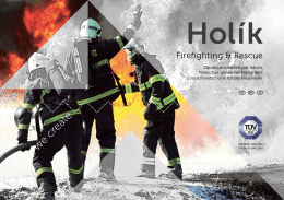 Rukavice pro hasiče – katalog 2015