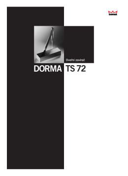 TS72 DORMA - Suza Glass