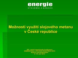 Kamil Podzemský - Energie stavebni a banska