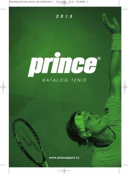 Katalog Prince Tenis 2015