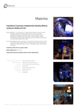 Malenka - Studio Damúza
