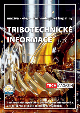 Tribotechnika 2015 1/2
