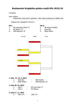 Rozpis mistrovských soutěží KP 2002/03 Plzeňského kraje – 2