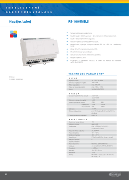 PS-100/iNELS Napájecí zdroj