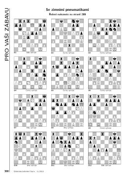 Pro vaši zábavu 308 - Československý šach