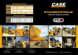Přehled nových modelů stavebních strojů CASE