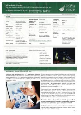 NGEF - Investiční příležitost - Září - 2015