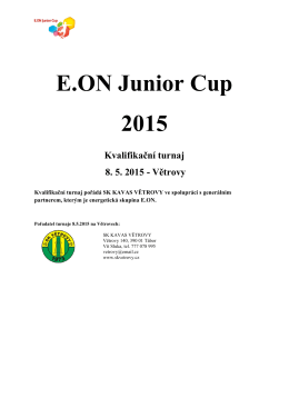 E.ON Junior Cup 2015