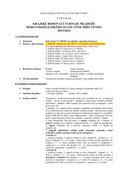 Propozice KBTM MSSST 2015/2016