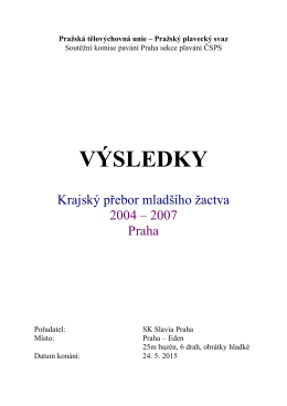 Výsledky (vše) - SK Slavia Praha