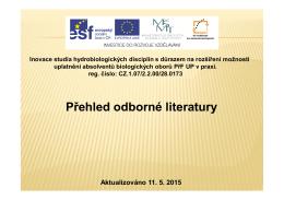Knižní literatura z projektu s obrázky 05/2015 (*)