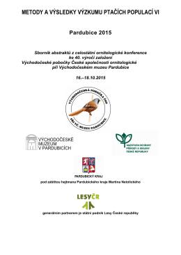 metody a výsledky výzkumu ptačích populací vi