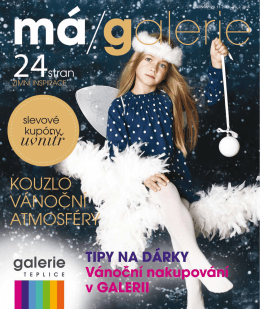 Stáhnout magazín - Galerie Teplice