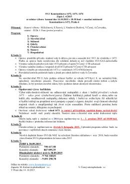 zápis výboru 2015-04