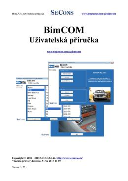 BimCOM - Auto-diagnostics.info