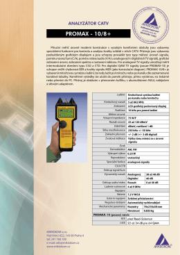 PROMAX - 8,10 Premium