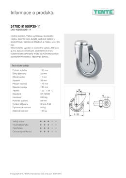 Informace o produktu 2470DIK100P30-11