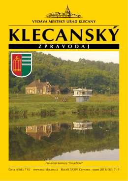 7/2015 - Město Klecany