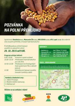 MTO - Pozvánka PD Rostnice.indd