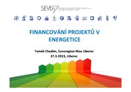 Prezentace | Financování projektů v energetice