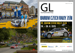 45. BARUM CZECH RALLY ZLÍN 28.