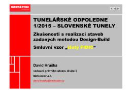 """Hruška - Zkušenosti s realizací staveb v režimu """"Yellow"""