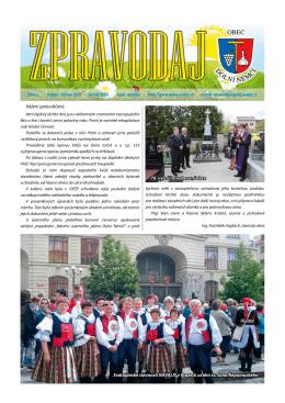 Vážení spoluobčané, 70. výročí osvobození obce