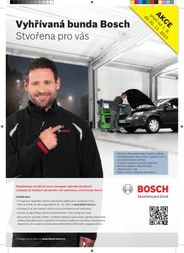 Vyhřívaná bunda Bosch Stvořena pro vás