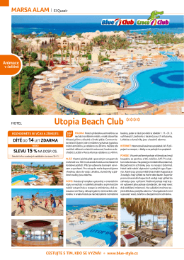 Utopia Beach Club ****
