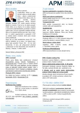 Zpravodaj 3/2015 - Asociace podnikatelů a manažerů