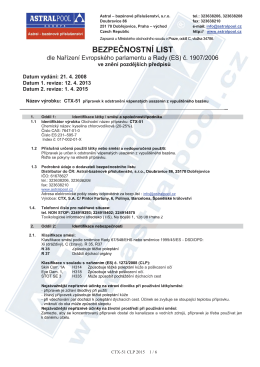 CTX-51 přípravek k odstranění vápenatých usazenin z
