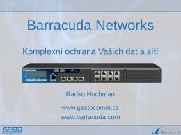 GestoComm_RHochman_Barracuda