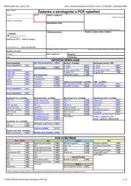 F_008b_Žádanka mikrobiologie_sérologie a PCR