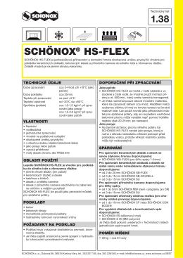 SCHONOX HS-FLEX 1.38.indd