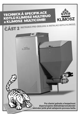 Návod k obsluze a instalaci kotle Klimosz Duo, Klimosz Combi