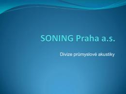 Tento bulletin - Soning Praha as