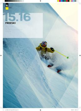 Katalog Völkl Freeski 2015-2016 (ČESKY)