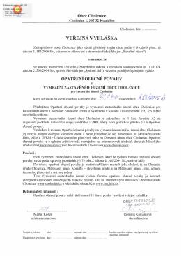 Elektronický podpis - 16.3.2015 Certifikát autora podpisu :