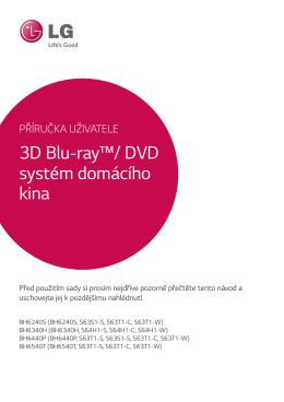 3D Blu-ray™/ DVD systém domácího kina