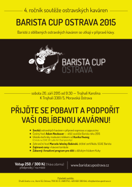 BARISTA CUP OSTRAVA 2015
