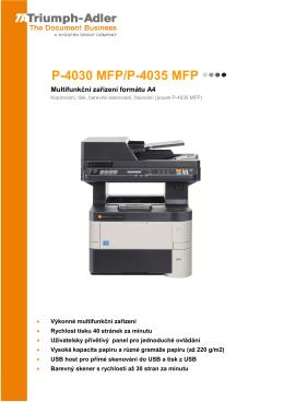 PROSPEKT_ P-4030 MFP_P-4035 MFP - TA Triumph