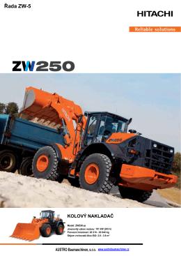 Řada ZW-5 - AUSTRO Baumaschinen