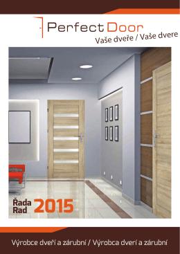 Řada Rad 2015