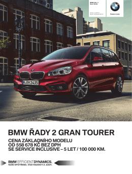 BMW ŘADY 2 GRAN TOURER