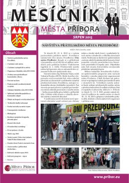 082015 - Město Příbor