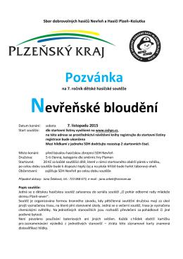 Nevřeň - OSH Plzeň